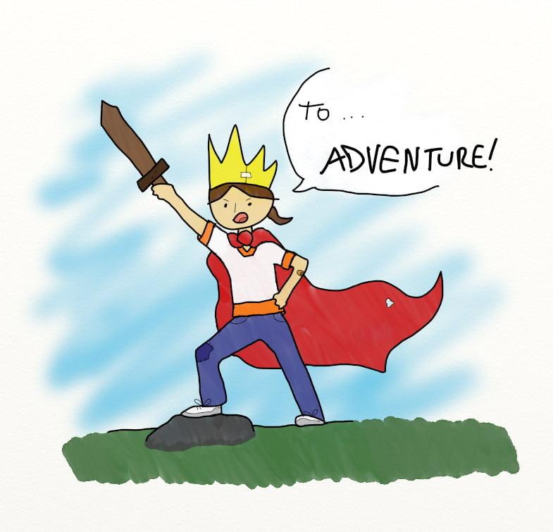 To… Adventure!